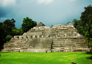 Caracol, Mayan City, Belize temple ruins